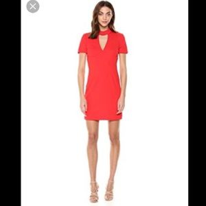 NWT- Trina Turk Campari Choker Dress, 6